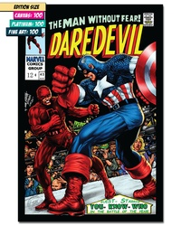 DAREDEVIL #43: Cover Art Recreation