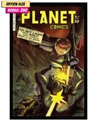 Book - PLANET COMICS Set of 4 PARTIAL: REPRINT