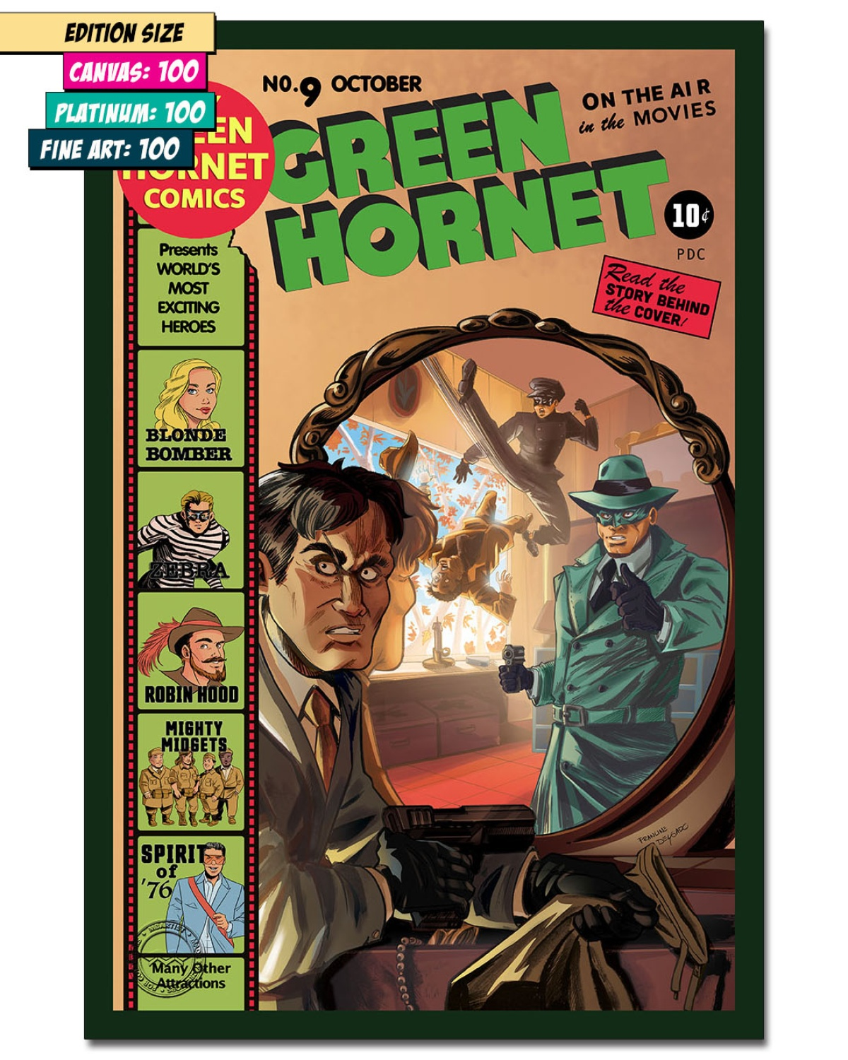 GREEN HORNET #9: REFLECTION OF JUSTICE