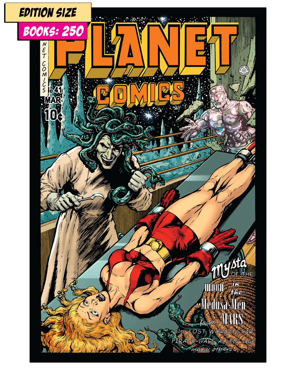 Book - PLANET COMICS #41 PARTIAL: REPRINT