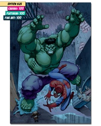 THE INCREDIBLE HULK: SPIDEY SCRAMBLE