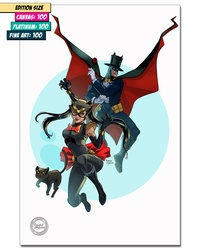 SAILOR MOON/BATMAN MASH-UP: SAILOR SELINA AND TUXEDO BAT