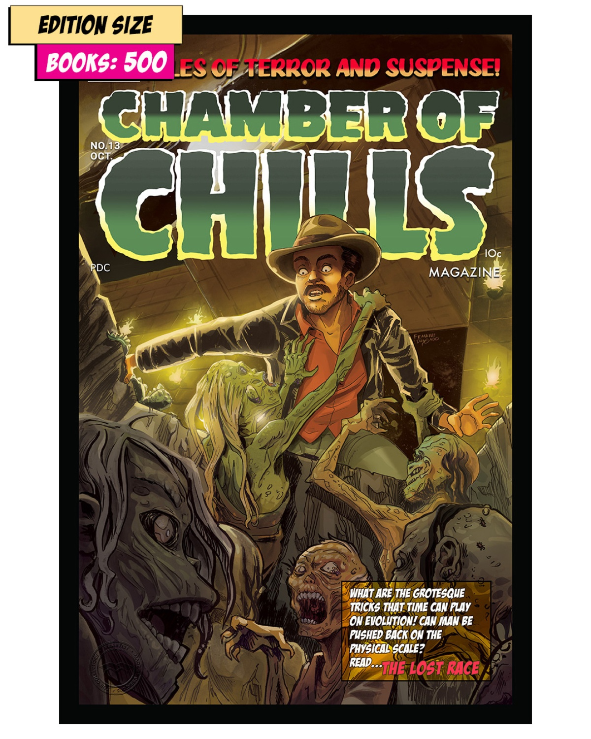 Book - CHAMBER OF CHILLS #13 : REPRINT