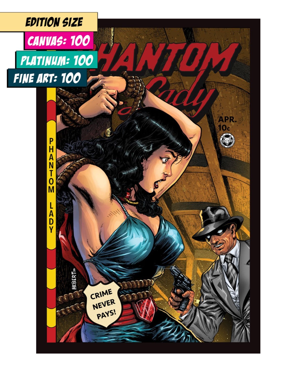 PHANTOM LADY 23: ALL TIED UP