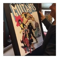 Unboxing: Bob McLeod's First MBart Switch Canvas, The New Mutants