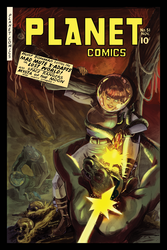 PLANET COMICS #51: