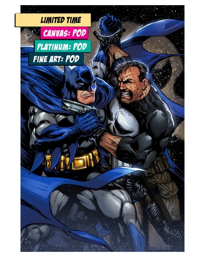 BATMAN VS PUNISHER: UNLEASHED