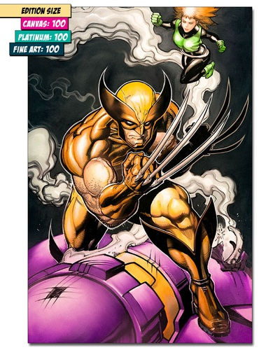 WOLVERINE: CLAWS UP