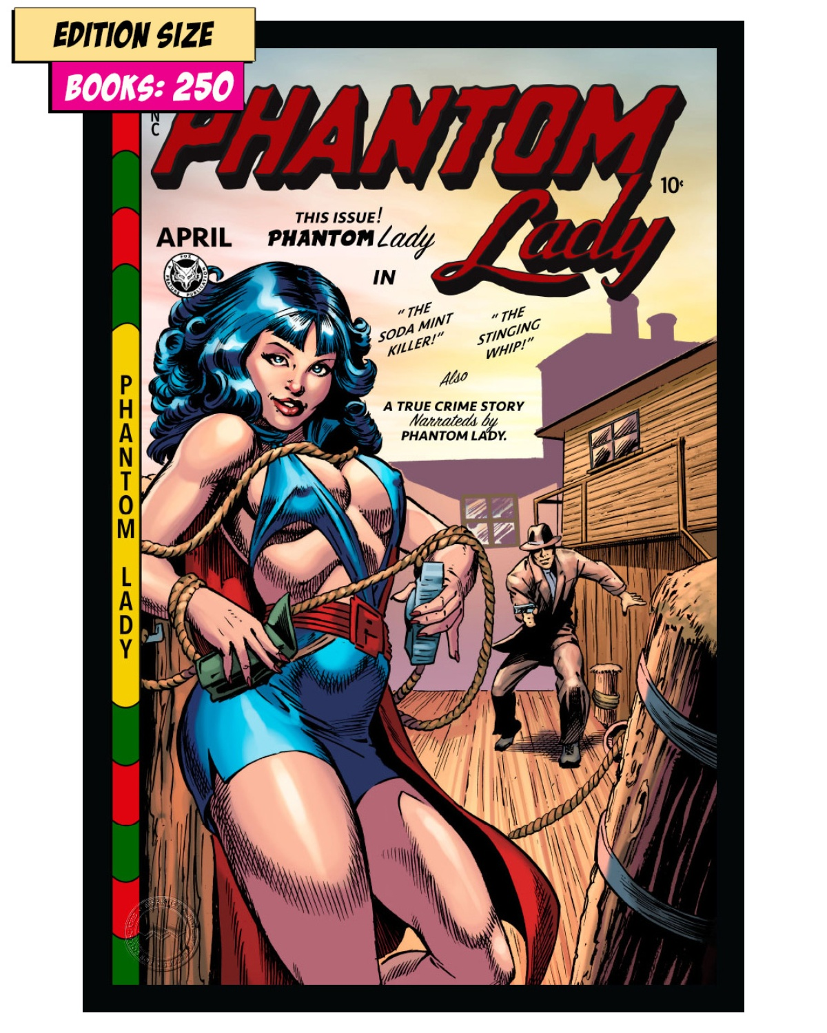 Book - PHANTOM LADY #17 PARTIAL: REPRINT