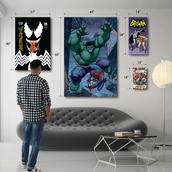 Superhero concept art
