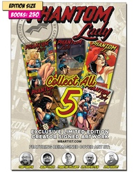 Book - PHANTOM LADY Set of 5 PARTIAL: REPRINT