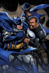BATMAN VS PUNISHER: