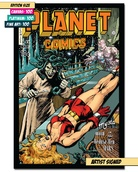 PLANET COMICS #41: TERRIFIED BY SNAKES