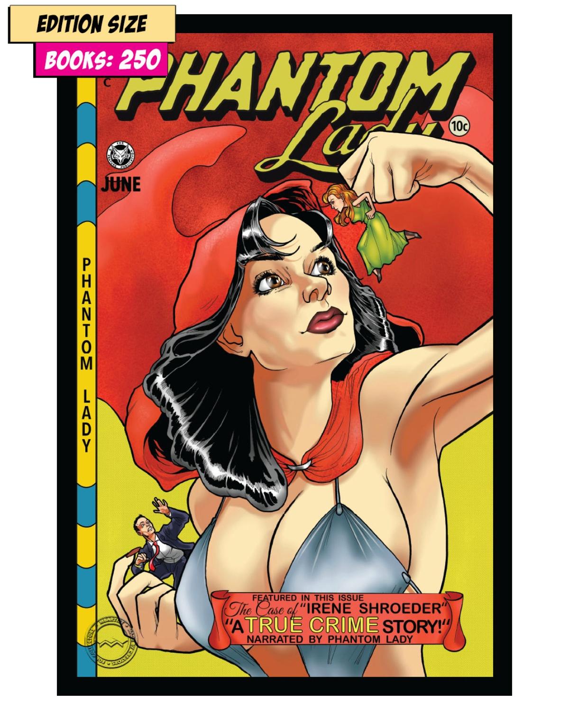 Book - PHANTOM LADY #18 PARTIAL: REPRINT