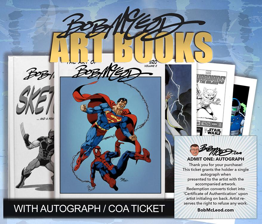 Bob McLeod: Art Books