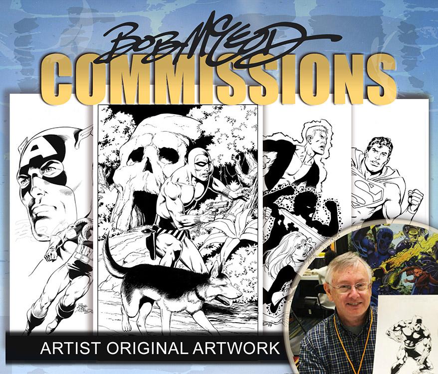 Bob McLeod: Commissions
