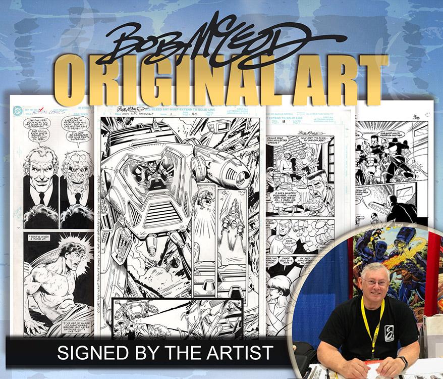 Bob McLeod: Original Art
