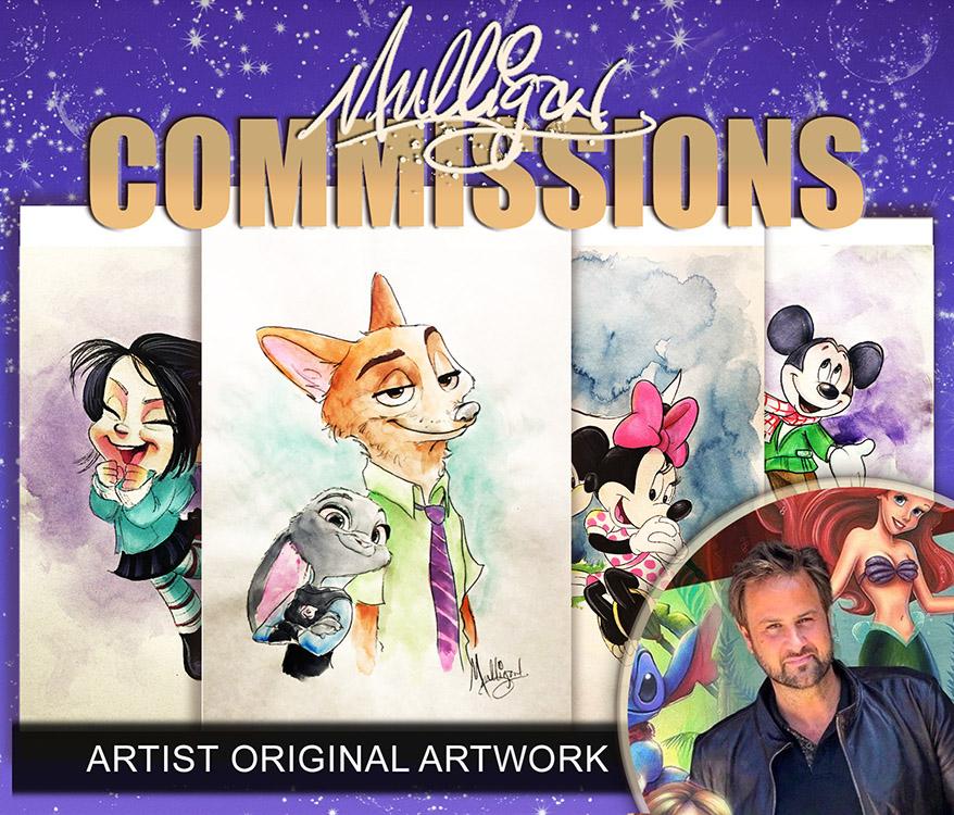 James C. Mulligan: Commissions