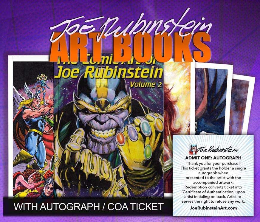 Joe Rubinstein: Art Books