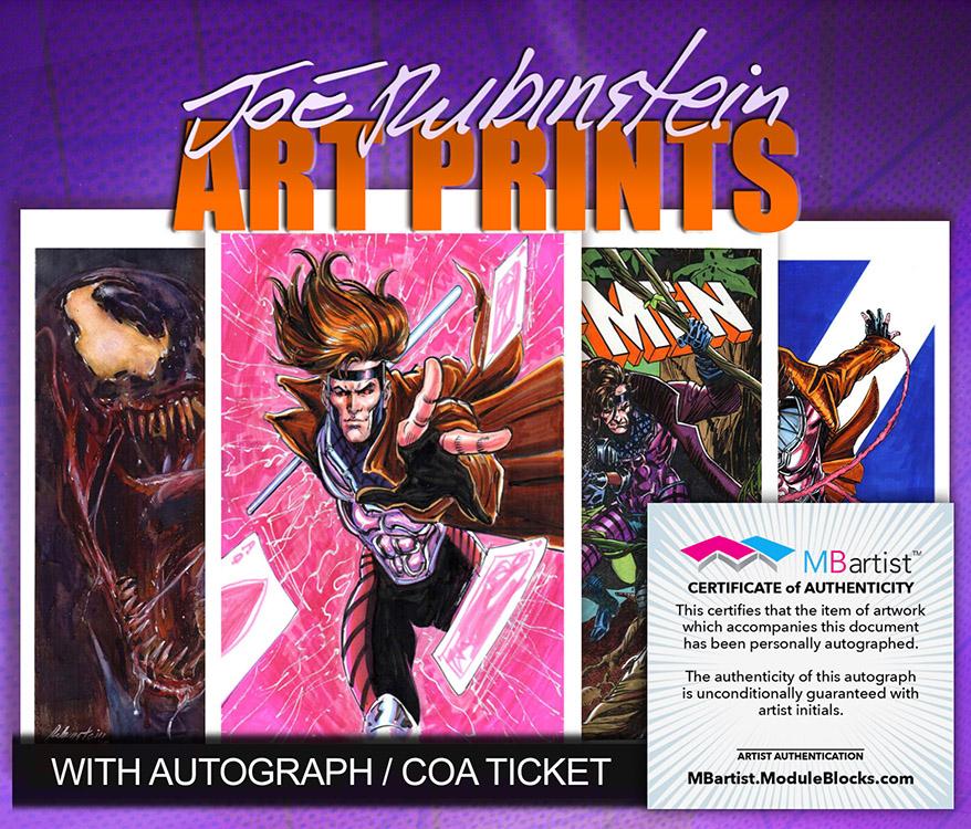 Joe Rubinstein: Art Prints