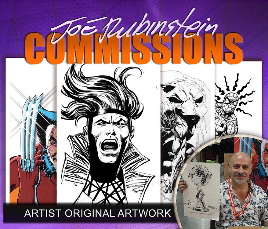 Joe Rubinstein: Commissions