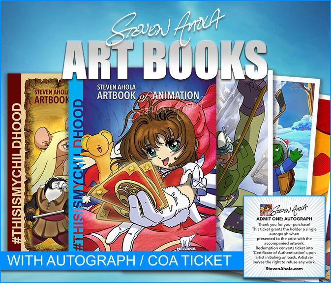 Steven Ahola: Art Books