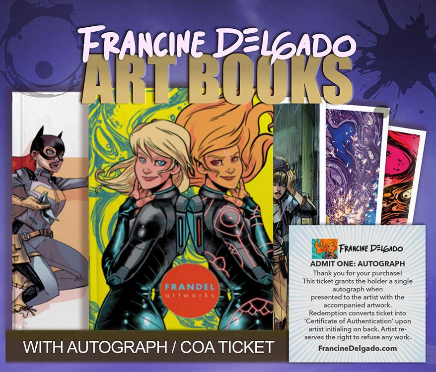 Francine Delgado: Art Books
