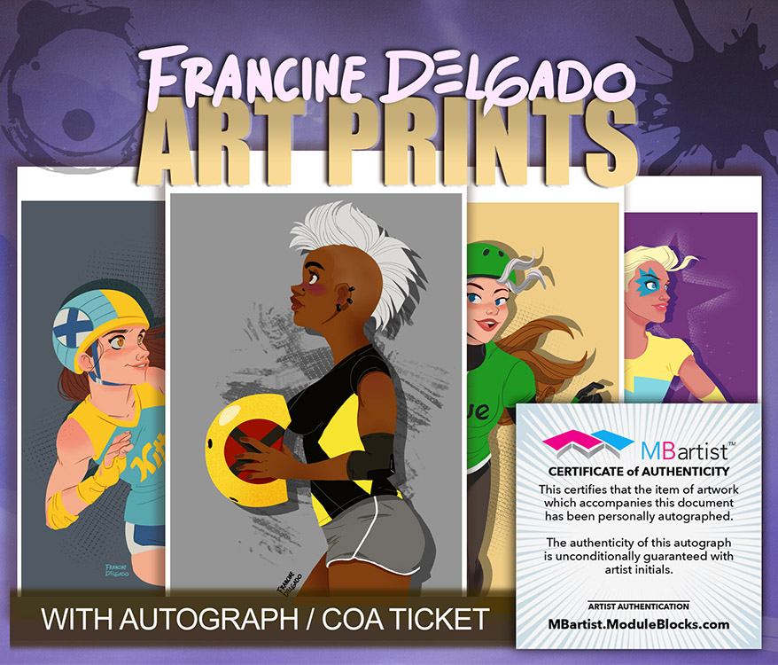 Francine Delgado: Art Prints
