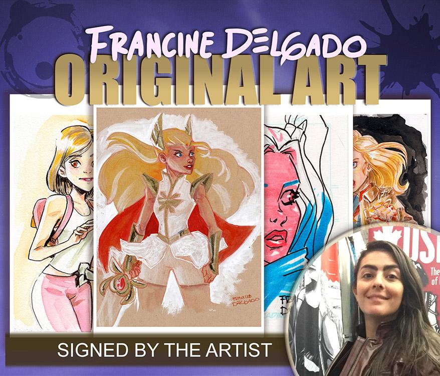 Francine Delgado: Original Art