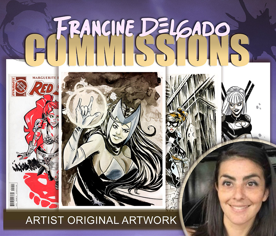Francine Delgado: Commissions