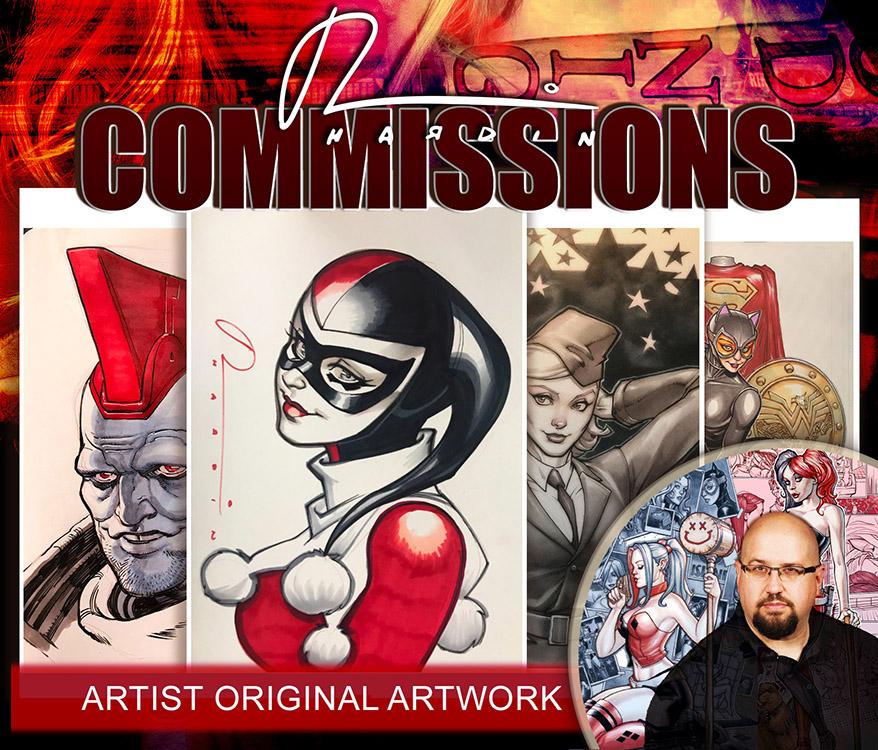 Chad Hardin: Commissions
