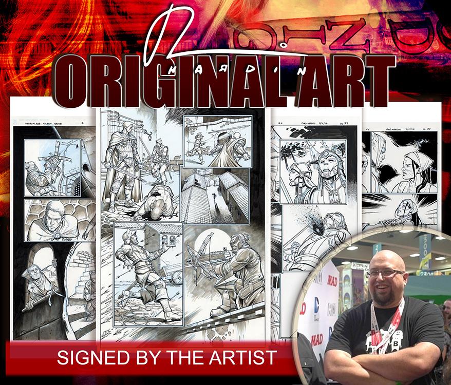 Chad Hardin: Original Art