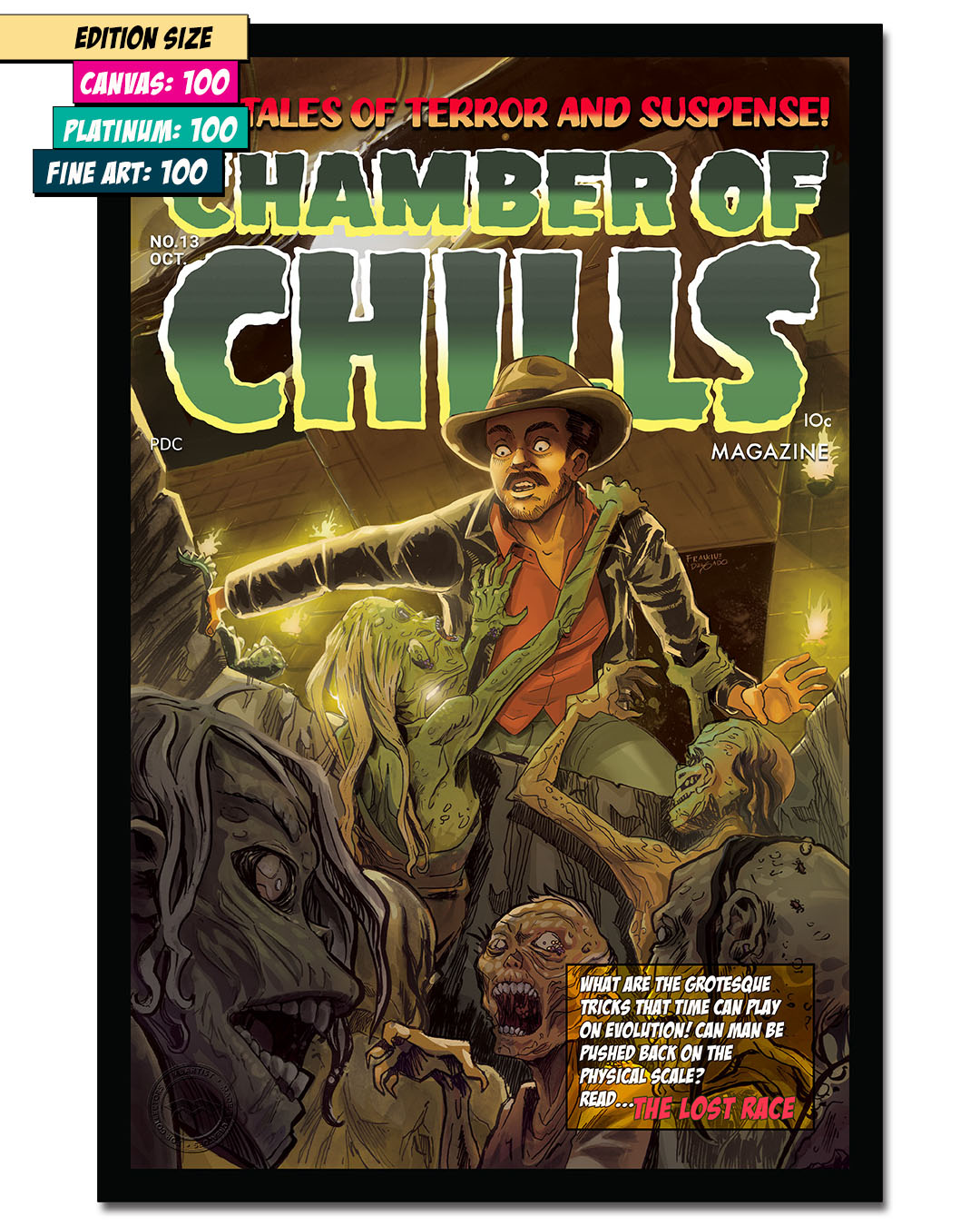 CHAMBER OF CHILLS 13: I HATE ZOMBIES