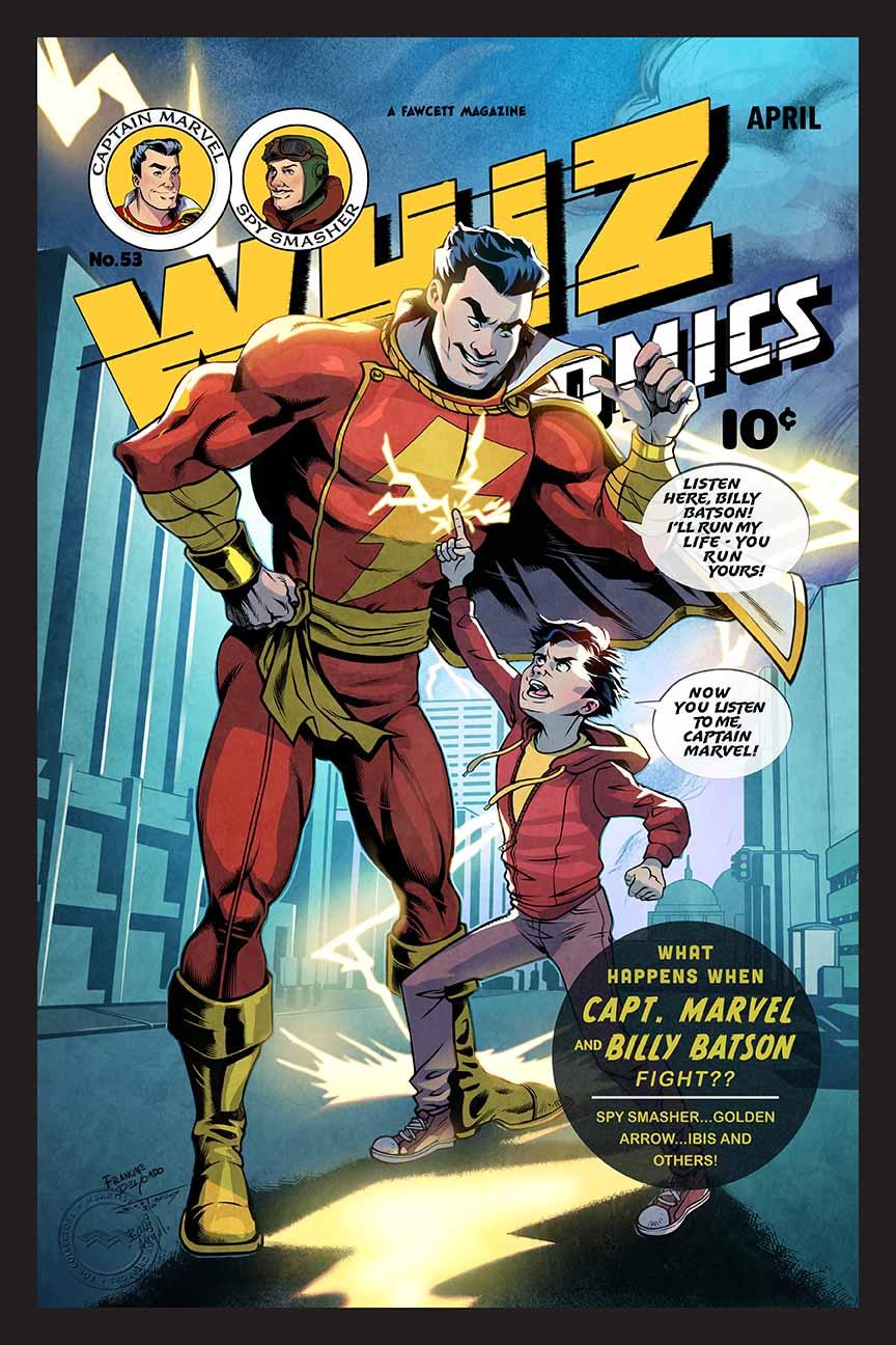 WHIZ COMICS #53: RECREATION
