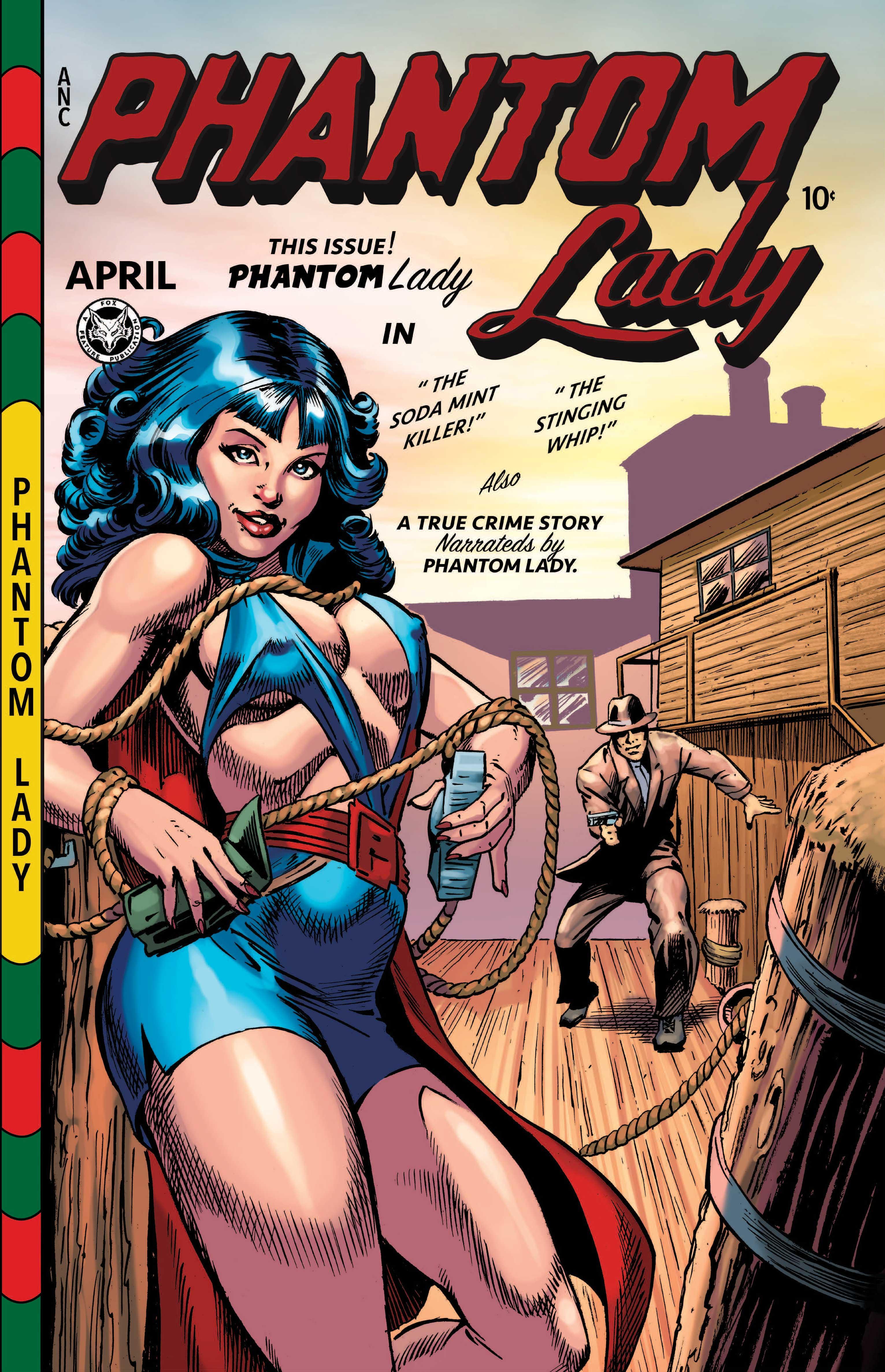 Book - PHANTOM LADY #17 PARTIAL: REPRINT