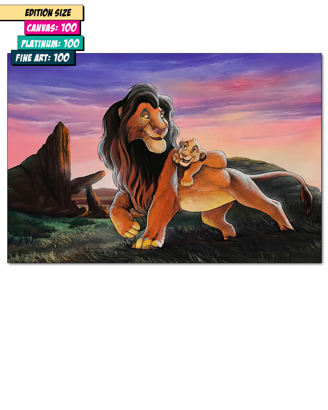 LION KING: MY FATHER AND ME