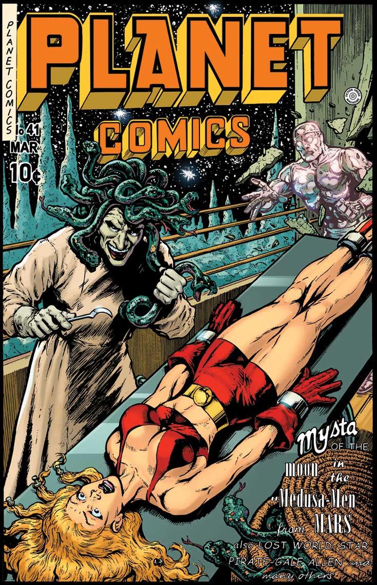 Book - PLANET COMICS #41 PARTIAL: REPRINT