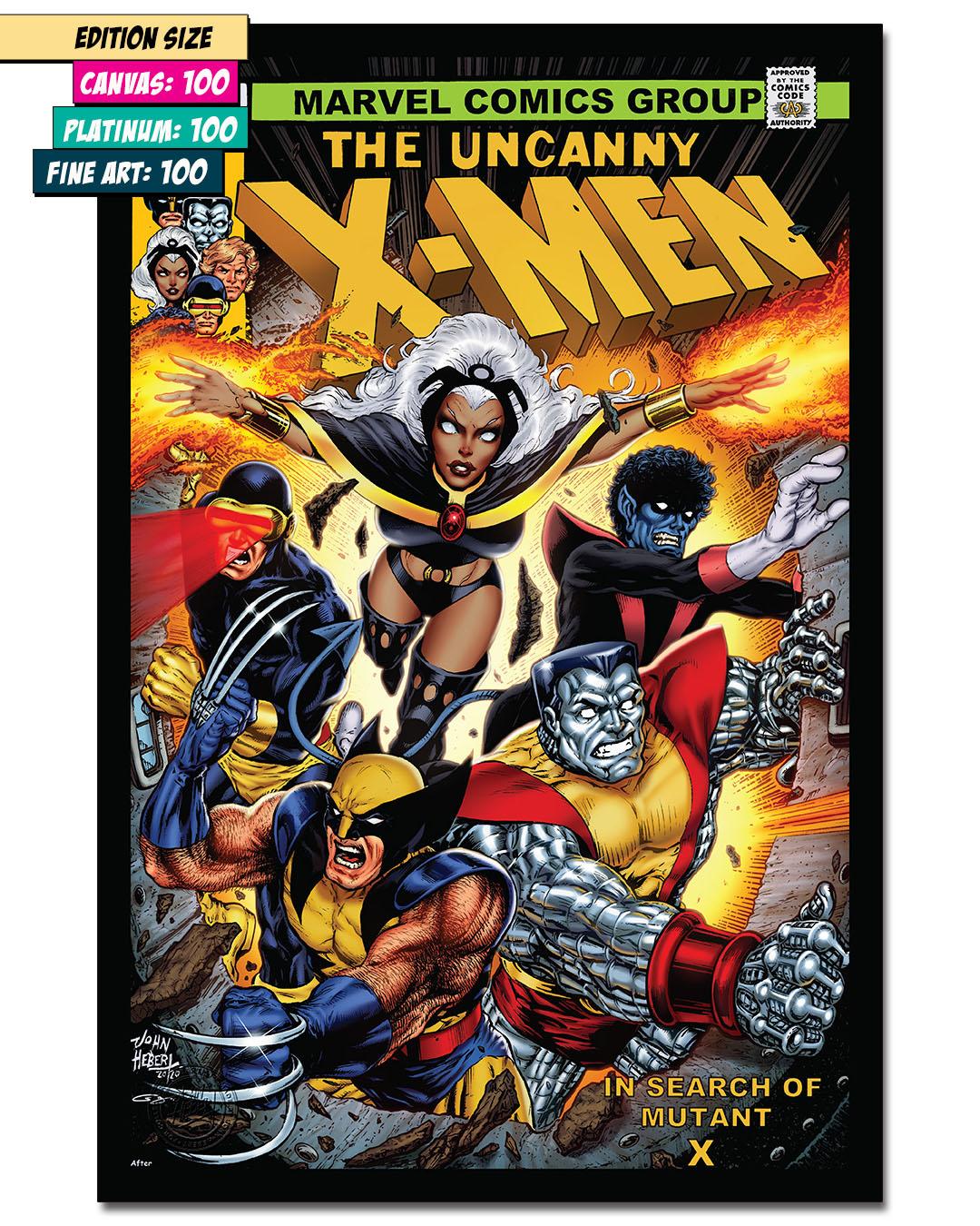 THE UNCANNY X-MEN #126: Cover Art Recreation