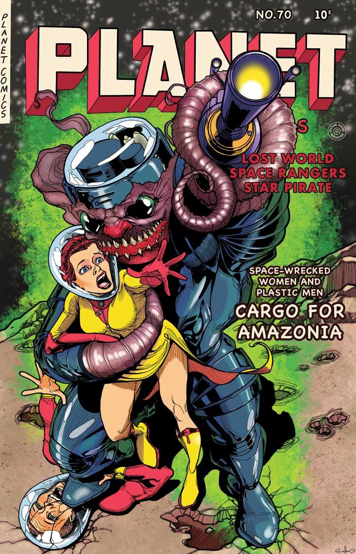 Book - PLANET COMICS #70 PARTIAL: REPRINT