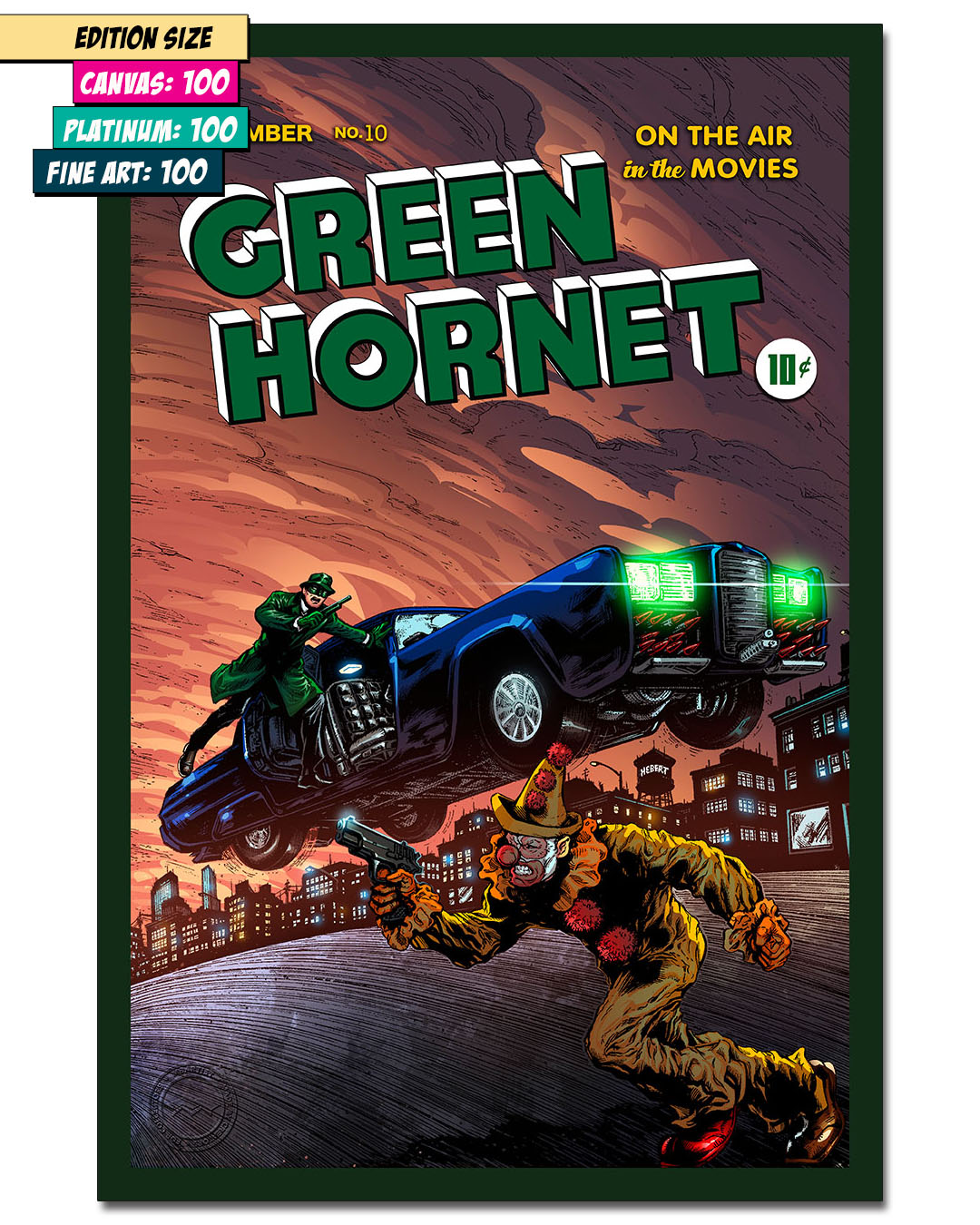 GREEN HORNET #10: ENTER THE BLACK BEAUTY