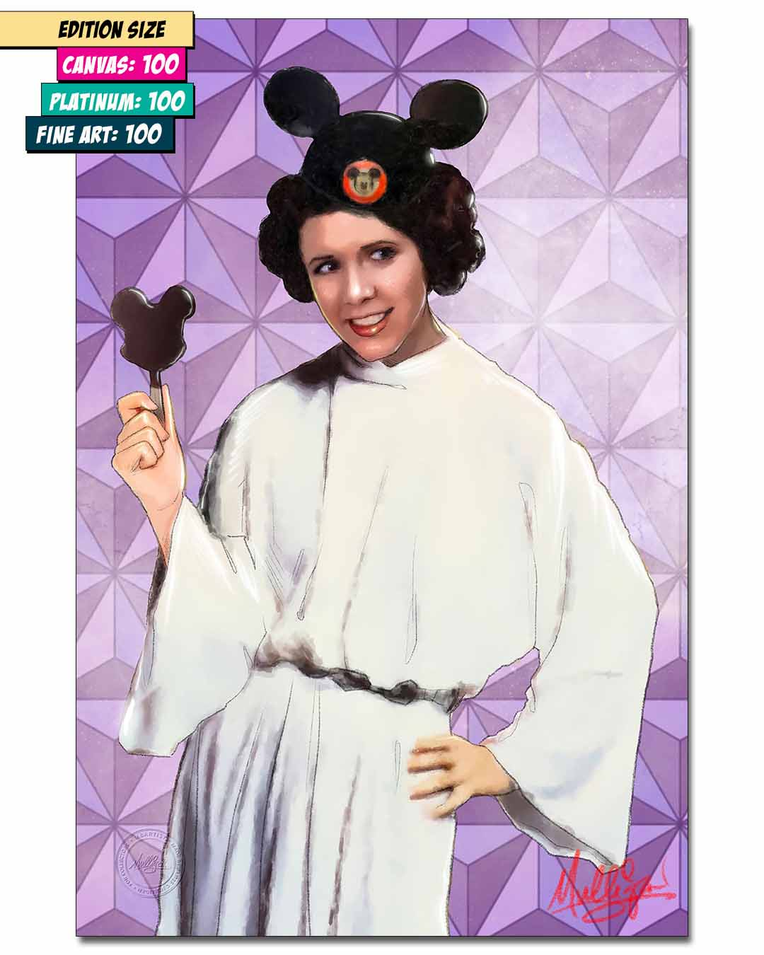 DISNEY STARLETS: CARRIE FISHER