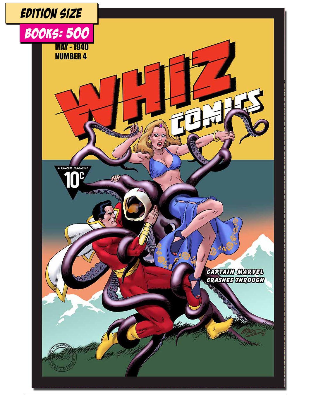 Book - WHIZ COMICS #4: REPRINT