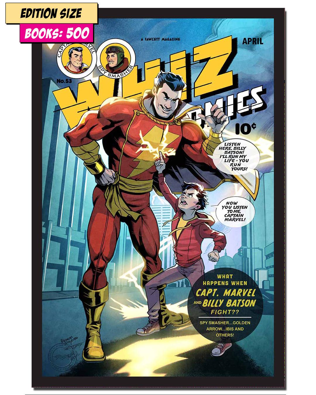 BOOK - WHIZ COMICS #53: REPRINT