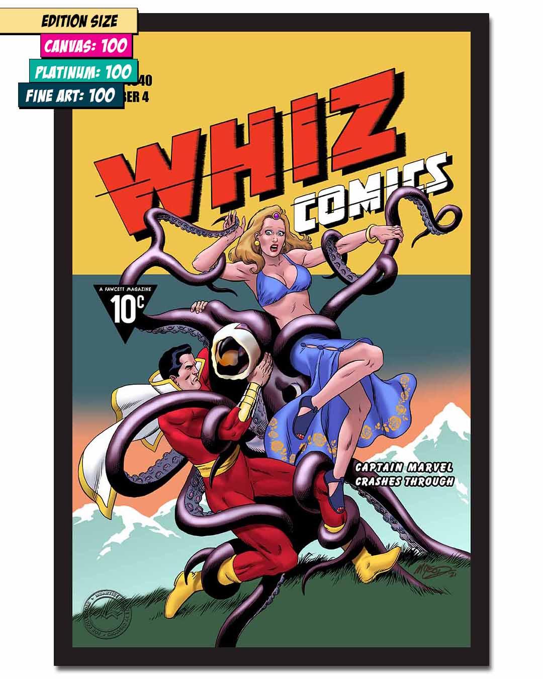 WHIZ COMICS #4: RECREATION