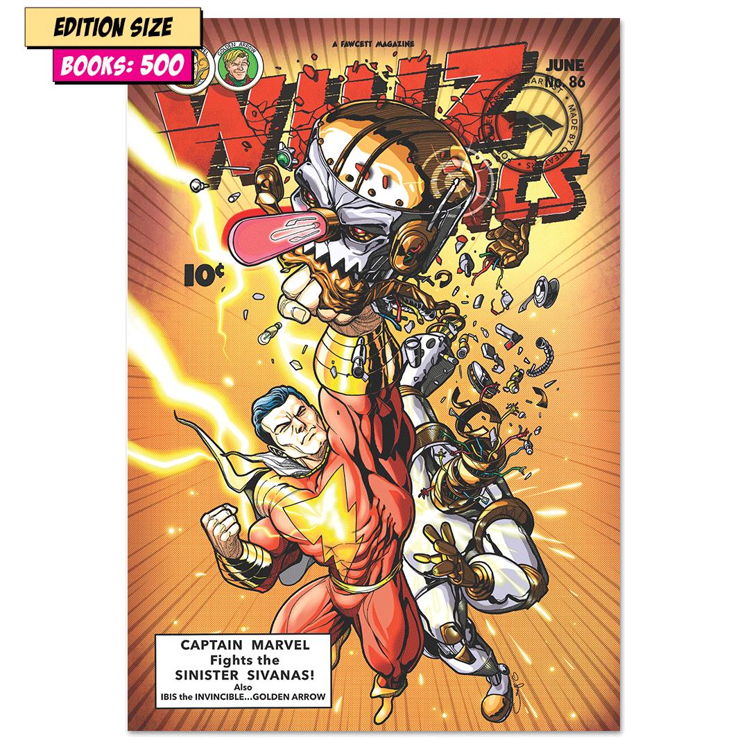 WHIZ COMICS #86: COVER RECREATION, FACSIMILE REPRINT