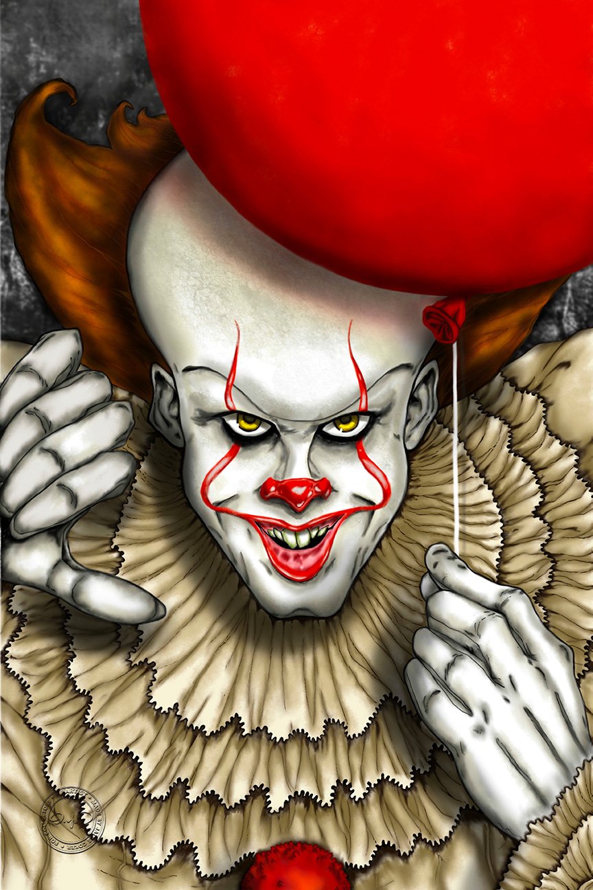 PENNYWISE: IT FLOATS