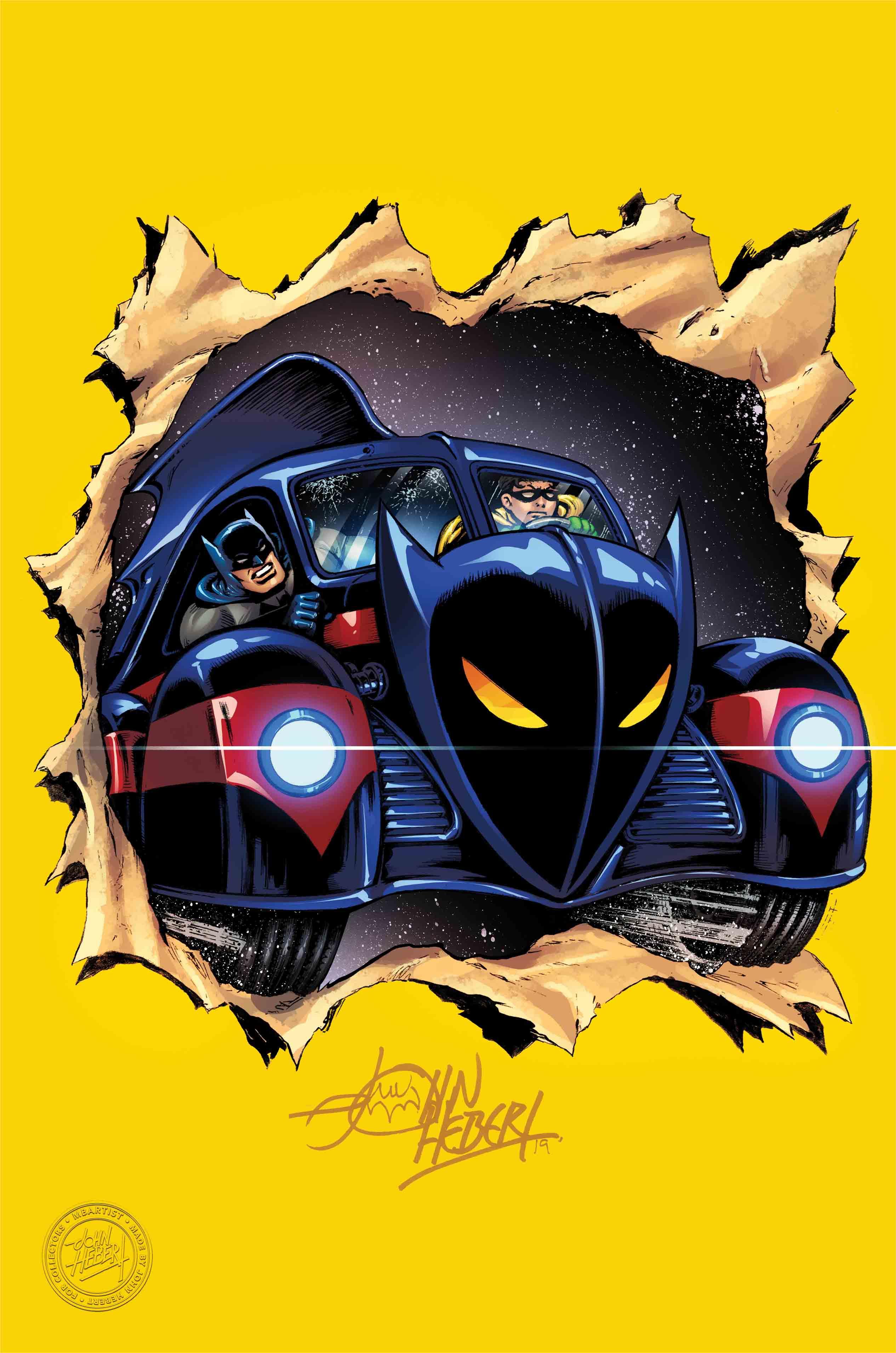BATMAN: ENTER THE BATMOBILE