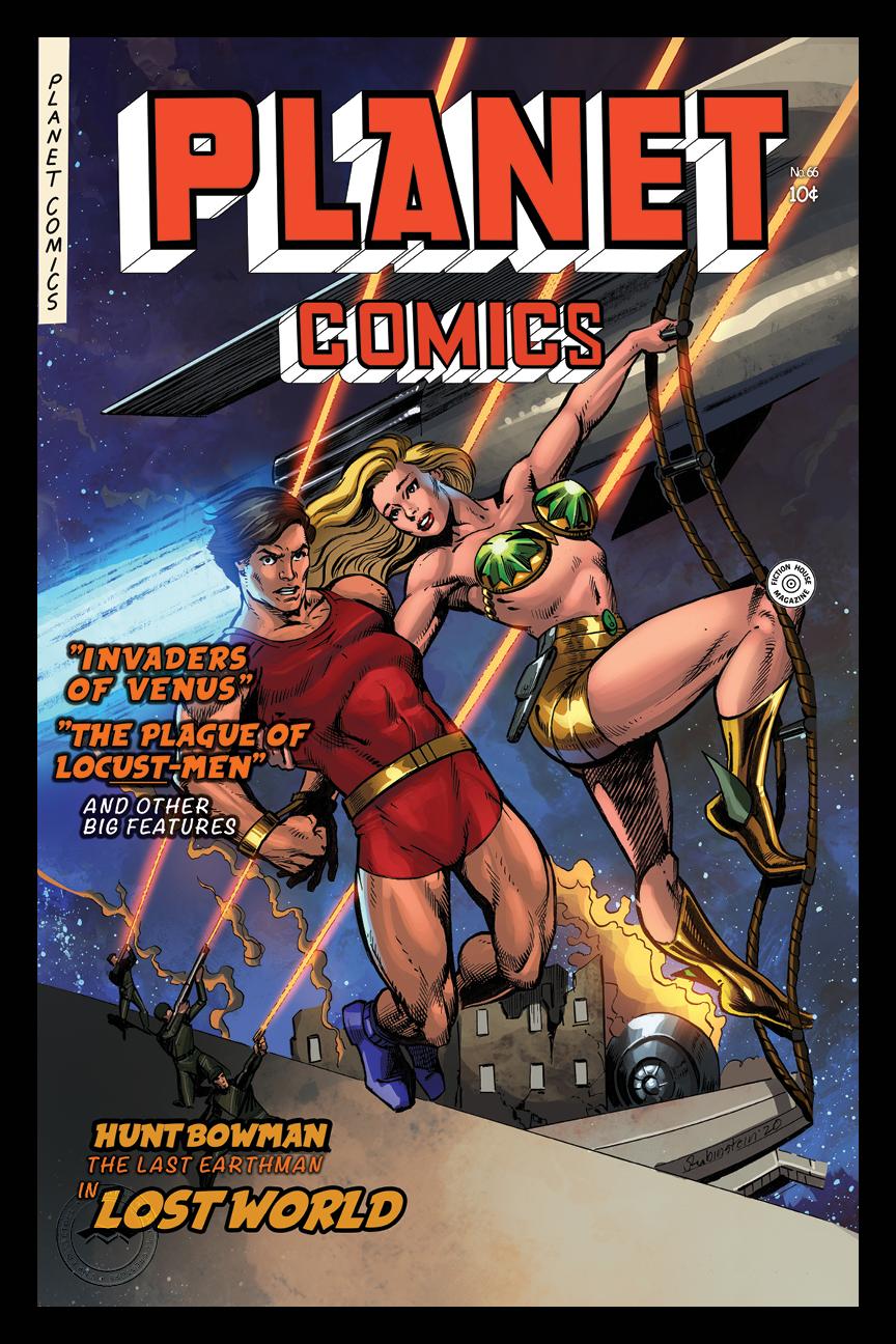 PLANET COMICS #66: HEROISM MIRRORED